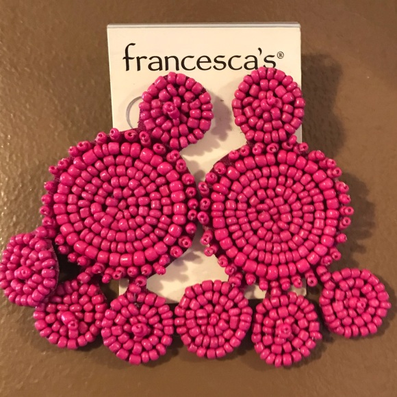 Francesca's Collections Jewelry - Francesca's Beaded Earrings